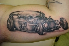 Rockabilly and Hot Rod Tattoos